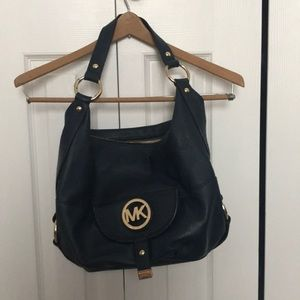 Navy Michael Kors Handbag